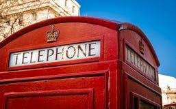 Cabine de telefone, Londres Foto de Stock Royalty Free