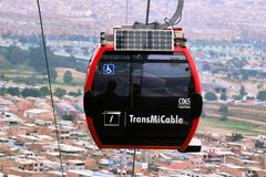 Cabine de Transmicable photo libre de droits