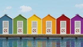 Cabine illustrazioni stock 172 cabine illustrazioni for Planimetrie della cabina della spiaggia