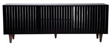 Cabine di legno nero Fotografia Stock