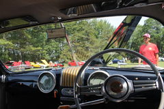 Cabine do carro de esportes de romeo do alfa do vintage fotos de stock royalty free