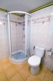 Cabine do chuveiro do banheiro. Imagens de Stock Royalty Free
