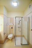 Cabine do chuveiro do banheiro Fotos de Stock Royalty Free