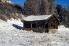 Cabine do inverno Imagem de Stock Royalty Free