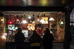 Cabine 25 do Natal Fotos de Stock Royalty Free