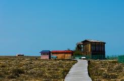 A cabine do outono Imagem de Stock Royalty Free