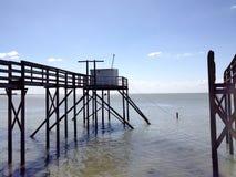 A cabine do pescador Imagens de Stock