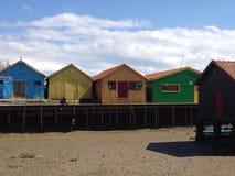 A cabine do pescador Imagens de Stock Royalty Free