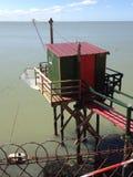 A cabine do pescador Foto de Stock
