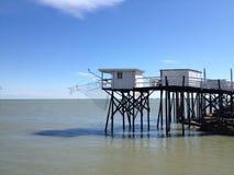 A cabine do pescador Fotografia de Stock