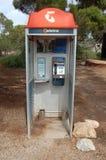 Cabine do telefone Fotografia de Stock Royalty Free
