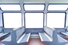 Cabine do trem Imagens de Stock