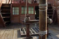 Cabine e plataforma do ` s do capitão Foto de Stock