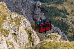 Cabine elevator Arkivfoton