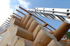 Cabine en bois Photographie stock libre de droits