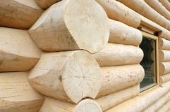 Cabine en bois Image stock