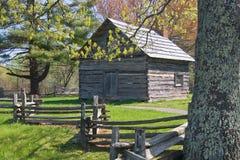 Cabine en bois Photo stock