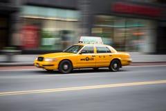 Cabine jaune Photographie stock libre de droits