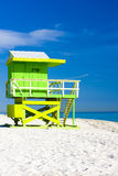 Cabine na praia Imagem de Stock Royalty Free
