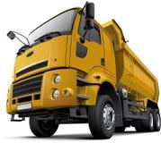 Cabine-over- stortplaatsvrachtwagen Royalty-vrije Stock Foto's