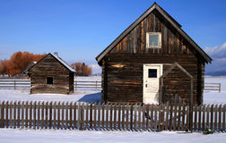 Cabine pionieristice 2 di Roseberry Fotografie Stock