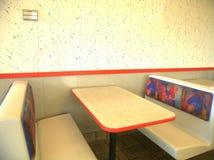 Cabine, restaurante, fast food Imagens de Stock Royalty Free
