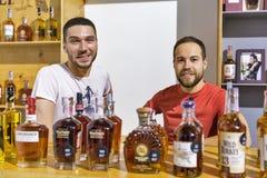 Cabine selvagem do uísque de bourbon de Turquia na gole do uísque Kiev, Uktaine imagens de stock royalty free