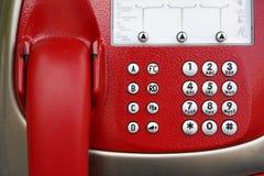 Cabine téléphonique à Vienne image stock
