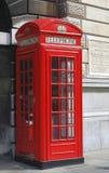 Cabine téléphonique Photographie stock