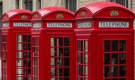 Cabine téléphonique Photo libre de droits