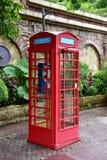 Cabine téléphonique Images stock