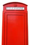 Cabine téléphonique britannique. Photographie stock libre de droits