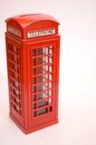 Cabine téléphonique grande de Britan Photographie stock