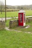 Cabine téléphonique K1, R-U Image libre de droits