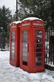 Cabine telefoniche di Londra Fotografia Stock Libera da Diritti