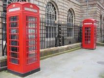 Cabine telefoniche K6 e K2 Fotografia Stock