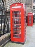 Cabine telefoniche K6 e K2 Fotografie Stock