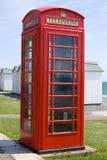 Cabine téléphonique britannique Images stock