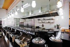 Cabine van cafetaria stock foto's