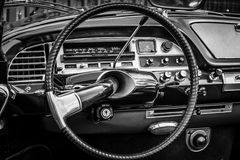 Cabine van de auto van de medio-grootteluxe Citroën DS21 Stock Foto