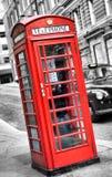 Cabine van de telefoon in Londen Stock Fotografie