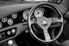 Cabine van een two-seater convertibele Chimère 450 van sportwagentvr Stock Foto's