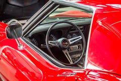 Cabine van van de het Korvet (C3) Pijlstaartrog van sportwagen de Coupé Chevrolet Stock Foto