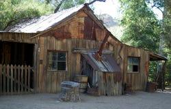 Cabine velha Fotografia de Stock
