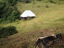 cabine in wildernis Royalty-vrije Stock Foto's