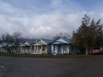 cabines stock afbeelding