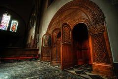 Cabines confessionnelles Photographie stock libre de droits