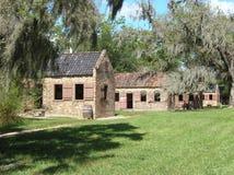 Cabines d'esclave de plantation Image stock