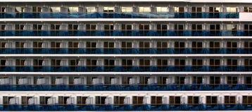 Cabines de bateau de croisière Images libres de droits