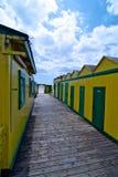 Cabines de mer Image stock